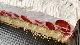 Ciasto Truskawkowa Rozkosz