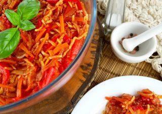 Ryba po azjatycku z warzywami w zalewie słodko-kwaśnej