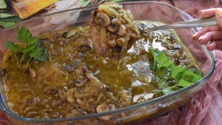 Karkówka z sosie cebulowo- chińskim