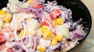Sałatka a'la kebab
