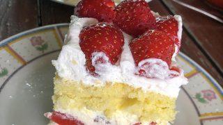 Ciasto truskawkowa pychotka
