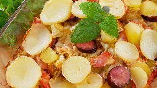 Zapiekanka Wiejski Kociołek – smaczny obiad z piekarnika