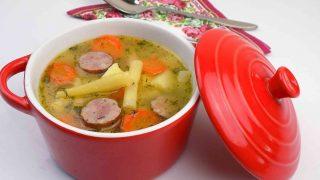 Słodko kwaśna zupa z fasolką