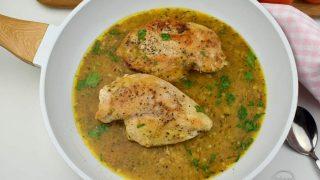 Pierś z kurczaka z rozmarynem