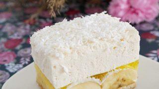 Ciasto z bananami (bez pieczenia)