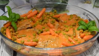 Mięso Z Łopatki W Warzywach