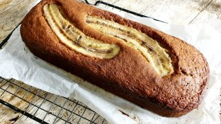 Najprostszy na świecie chlebek bananowy