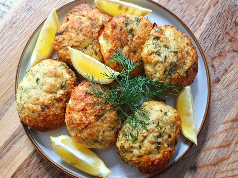 Kotlety rybne z piekarnika