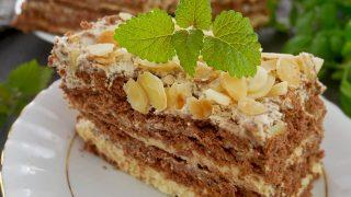 Ciasto Słodki Amant – herbatnikowiec bez pieczenia